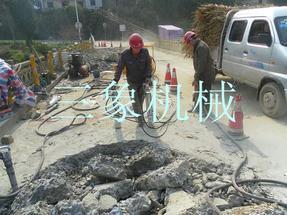 公路、桥面钢筋混凝土拆除设备-液压劈裂机
