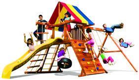rainbow木制游乐设施