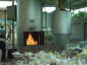 焚化炉,焚烧炉,废弃物焚化炉