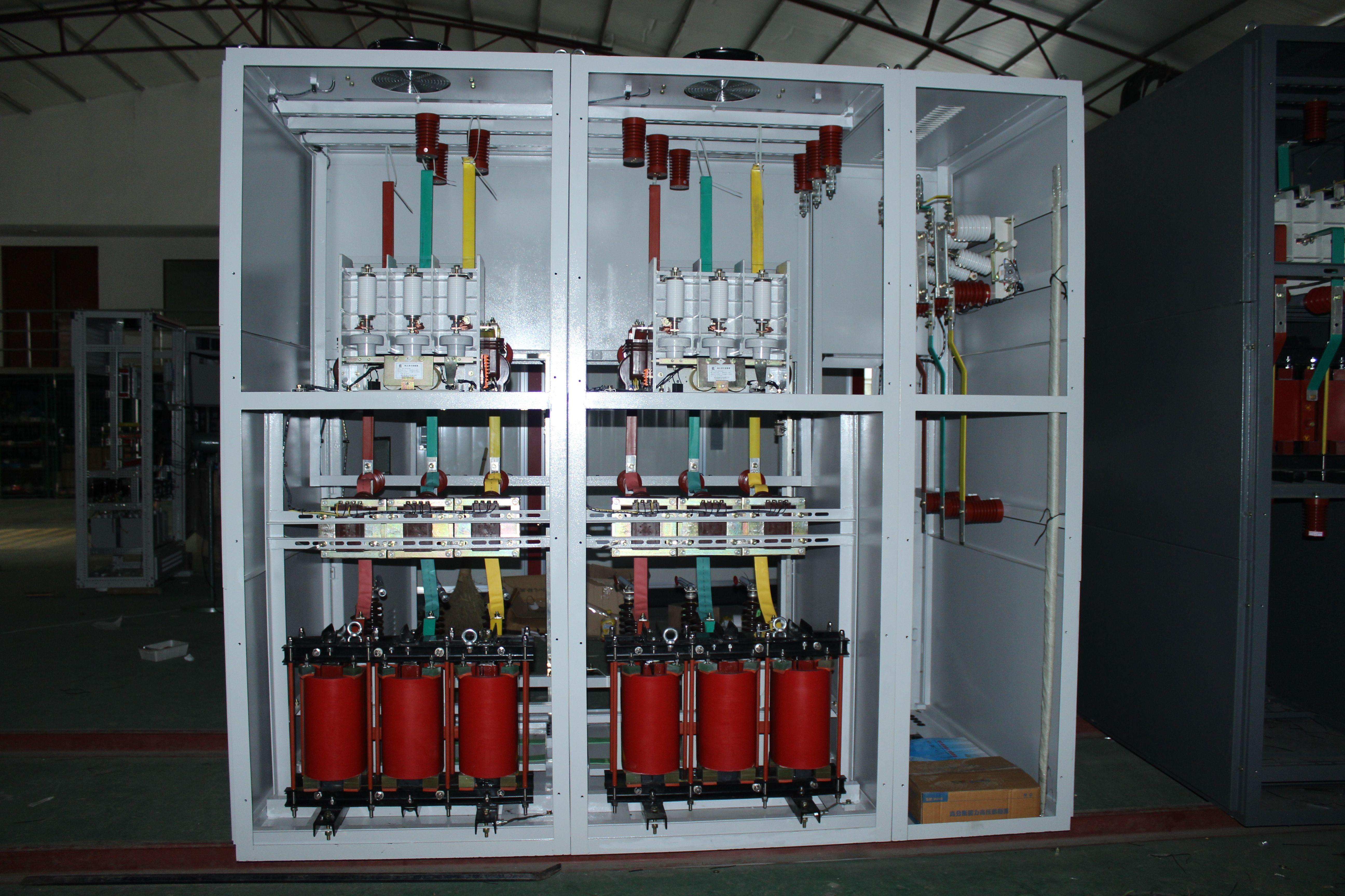 所以无功功率补偿装置在电力供电系统中处在一个不可缺少的非常重要的