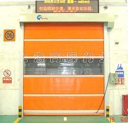 上海高藤门业供应快速卷门,快速门, 高速门,卷门,高速卷帘门,柔性重叠门,软门。