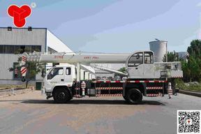 四通专业设计制造16吨汽车底盘吊车STSQ16B