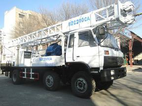 滨州钻机BZC200CA车载式水井钻机