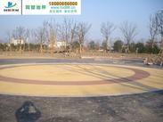 仿真生态透水混凝土、多孔透水地坪、彩色透水混凝土