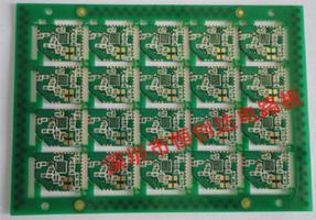 四层肓孔+半孔无线电话机蓝牙模块线路板