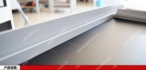 画廊铝合金银色L型轨道,挂镜线铝合金L槽