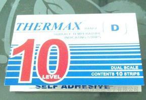 10格D型温度试纸英国THERMAX测温纸