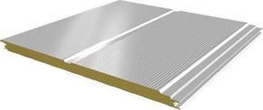 隐藏式横排玻璃丝棉彩钢夹芯板保温板