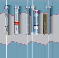 建筑装饰 高强锚固扭矩控制式机械锚栓 化学锚栓