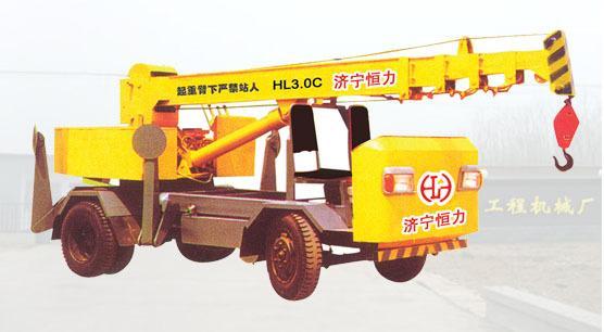 济宁恒力机械常年低价销售液压吊车四轮吊车图片