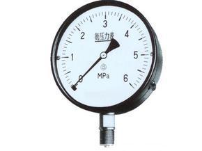 YA-100、YA-150氨用压力表