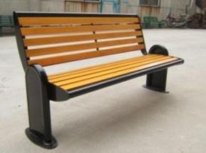 塑木公园园林椅,休闲椅厂家