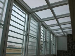 阳光板雨棚河北阳光板厂