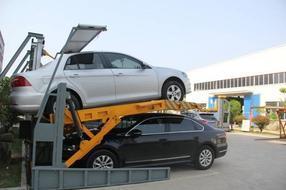 供应商生产家用俯仰式立体停车设备