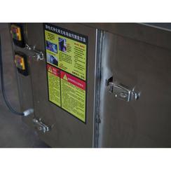 政润碳烤无烟烧烤车室内外通用安全可靠