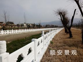 河道护栏河道栏杆混凝土护栏仿石护栏