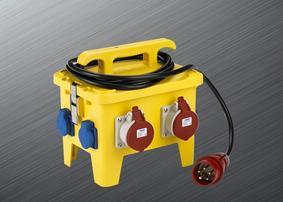 工业插座箱 户外防水配电箱 多功能组合插座电源箱