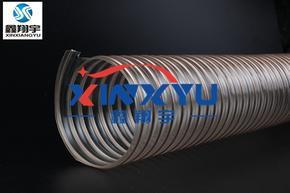 工业软管,工业吸尘器软管,镀铜钢丝伸缩管