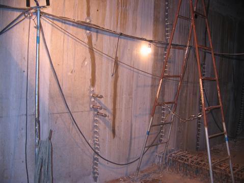 混凝土墙体裂缝修复