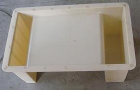 U型槽模具 水泥U型槽模具 农田U型槽模具