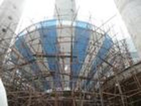 山西新建倒锥型水塔; 广西新建蘑菇型水塔