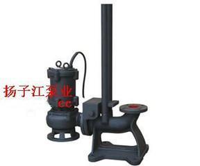 污水泵:WQ系列无堵塞固定式潜水排污泵