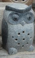 黑色花岗岩小鸟雕刻 GAB485