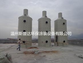 酸碱废气微生物螺旋喷淋塔