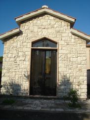 法式拼图白草玉墙石