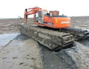 内蒙水上挖掘机出租包头水陆两栖挖掘机出租**详情解读