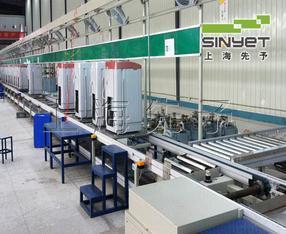 上海洗衣机输送线|非标洗衣机生产线|先予|洗衣机组装线