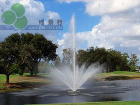 水中欧式喷泉