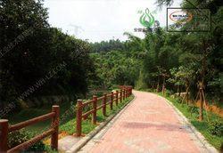仿木,仿木护栏,绿道护栏,景观护栏,河道栏杆