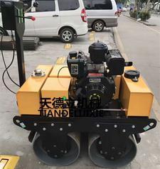 YS600型手扶式双钢轮小型压路机 柴油动力压路机