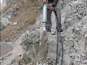 重晶石开采替代爆破设备