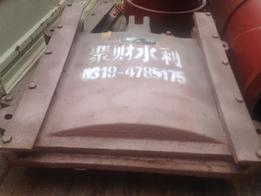 饲养厂用铸铁排水闸门、铸铁拍门
