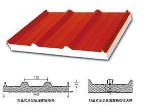 扣盖式夹芯屋面板