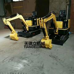 TDLW-10履带式小型挖掘机 果园挖掘机 地基挖坑机
