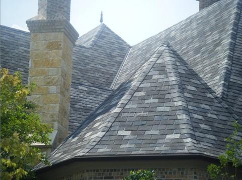 别墅屋顶瓦片