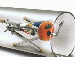 粗管子内壁喷涂机GNB-2--可喷1.4米管道