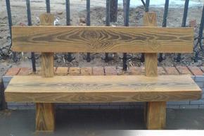 水泥仿木桌椅设计施工