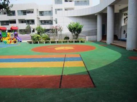 北京朝阳幼儿园地面设计