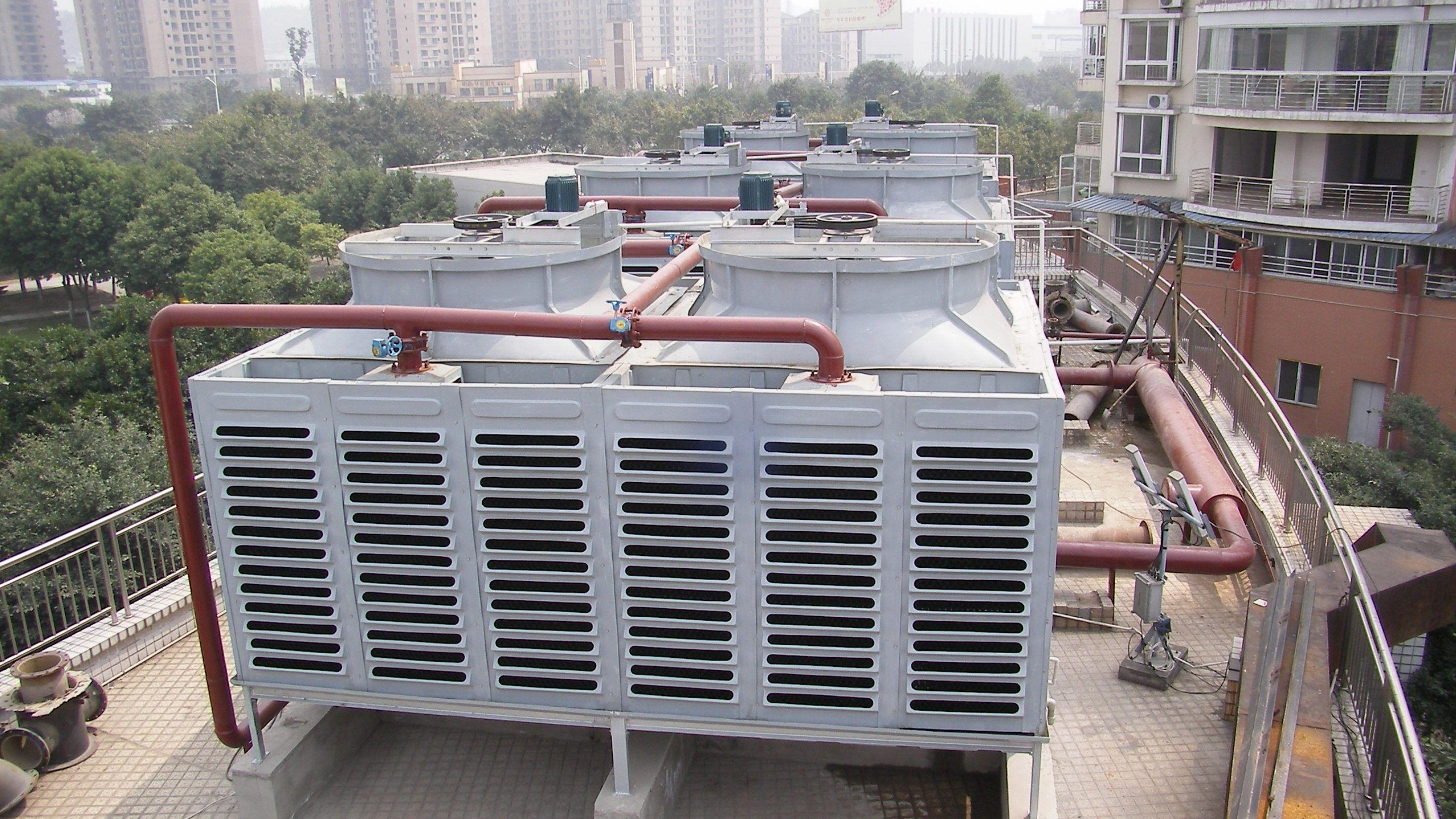 400吨横流式低噪音冷却塔