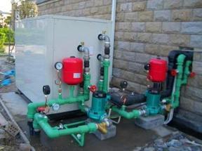 富田水源热泵机组进水维修 蒸发器进水维修