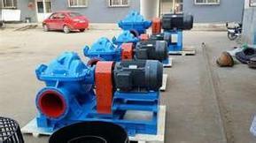 10SH-6卧式中开双吸泵大流量离心泵清水泵排涝灌溉泵
