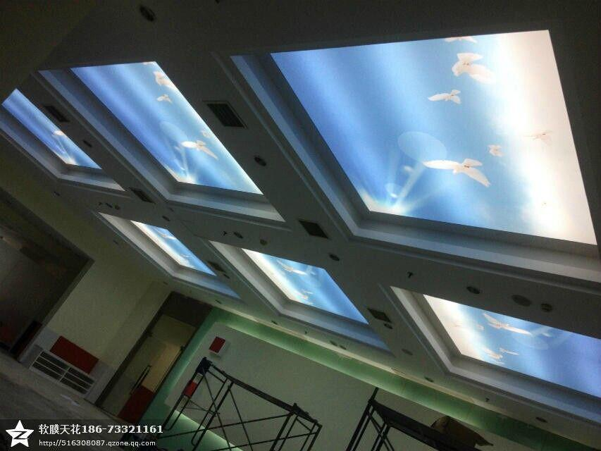 商展空间天花图手绘