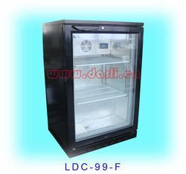低温玻璃门小冰箱