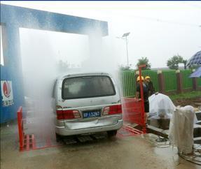 工地车辆自动洗轮机冲洗机