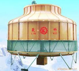 玻璃钢逆流式高温冷却塔