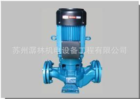 管道式离心泵 热水型